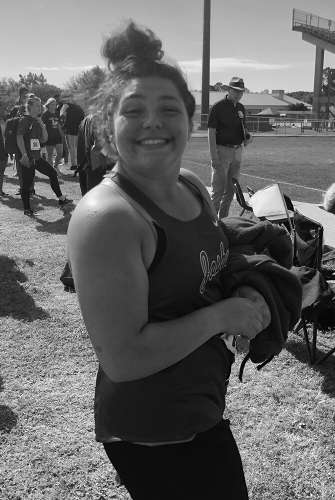 Kaylee Damron - shot put - 2019